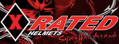 xrated helmets logo